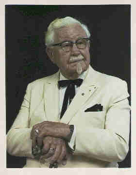 colonel sanders rags to riches pic